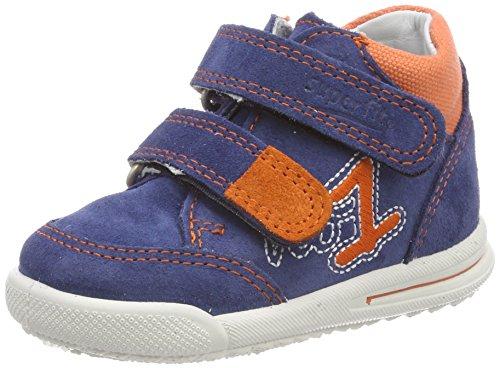 Superfit Baby Jungen Avrile Mini Sneaker, Blau (Water Kombi), 25 EU