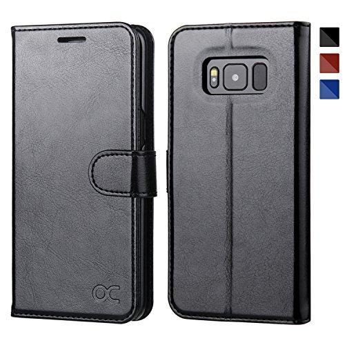 OCASE Cover Samsung Galaxy S8 (5.8 inch) [Portafoglio] Custodia di Pelle Case Flip
