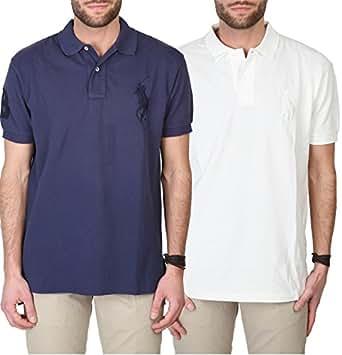 Polo by Ralph Lauren Big Pony Homme blanc clair, men shirt
