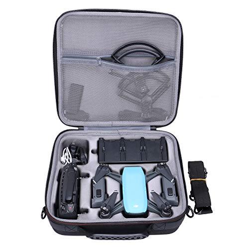XANAD DJI Spark Tasche für DJI Spark Palm Start intelligente Tragbare Mini Drone - Passt 3 zusätzliche Batterien, Controller und Ladegerät Inklusive Schultergurt
