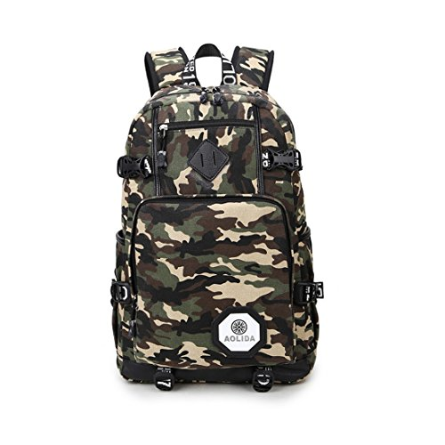 Zaino casual scuola daypacks canvas backpack tela zaino per scuola viaggi