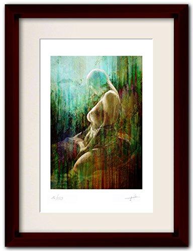 73 Kunst (erotische Kunst - Kunstdruck Nr. 73 von Originalgemälde in DIN A4 limitiert und signiert direkt vom Künstler- 250 Exemplare weltweit - Aktgemälde Frau nackt Art Print Frauenbilder Bild Poster Erotik Grafik Aktmalerei kaufen)