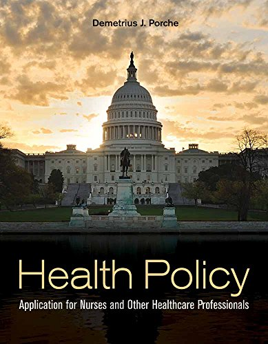 Health Policy: Application Fo