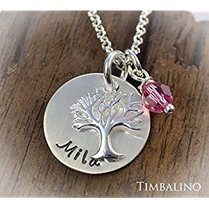 Namenskette *Lebensbaum* 925 Silber