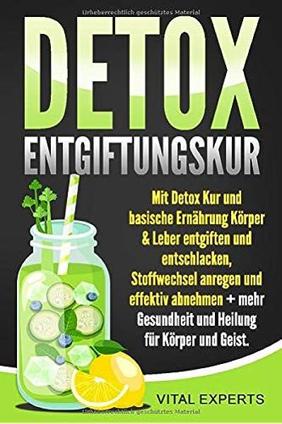 7-tägige Diät zur Entgiftung des Körpers
