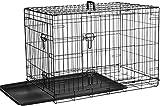 AmazonBasics Hundekäfig mit 2 Türen, Metall, zusammenklappbar, Gr. M - 7