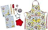 Cooksmart Kids - Juego de accesorios para repostería, infantil, modelo Captain Flapjack, 9 piezas