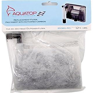 Aquatop Aquatic Supplies 3DHOB-RCI Filter Replacement for 3Hob/Ns4G/Ns7G
