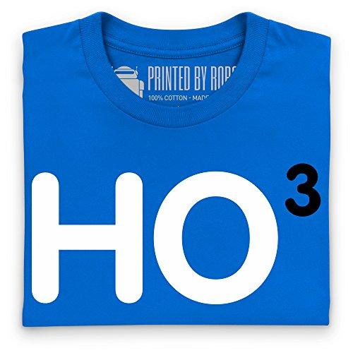 Ho Cubed T-Shirt, Herren Royalblau