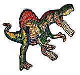 Dinosaurier Cartoon bestickt Nähen Eisen auf Patch Cartoon Nähen Eisen auf bestickte Applikation Craft handgefertigt Baby Kid Girl Frauen Tücher DIY Kostüm Zubehör