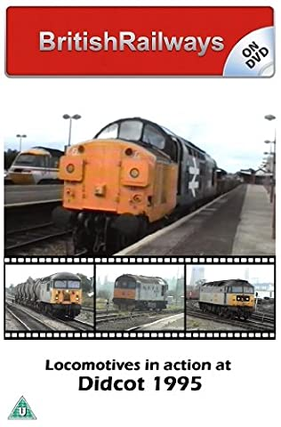 BritishRailways On Dvd - Locomotives In Action At Didcot 1995 (Diesel Locomotives at Didcot Parkway, Railfreight,