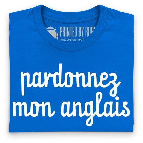 Pardonnez T-Shirt, Herren Royalblau