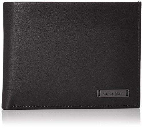 Calvin Klein Jeans Herren ANDR3W 5CC+Coin Geldbörsen, Schwarz (Black 001 001), 10x12x3 cm (Jean-geldbörsen-beutel)