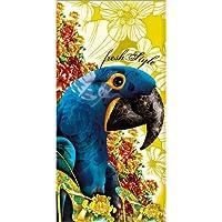 Póster 40 x 80 cm: guacamaya de Claudio Limón - impresión artística póster artístico