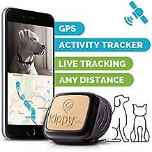 Kippy Vita - GPS y Monitor de Actividad para gatos y perros - Localizador GPS para perros y otros animales - Black Guardian