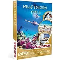 Emozione3 - Cofanetto Regalo - MILLE EMOZIONI PER 2-2470 attività multitematiche a scelta tra soggiorni, cene, benessere e attività sportive