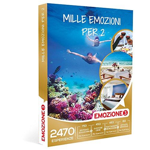 EMOZIONE3 - Cofanetto Regalo - MILLE EMOZIONI PER 2 - 2470 attività ...