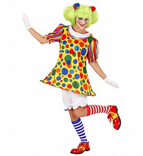 Kostüm Girl Clown Halloween - Widmann - Erwachsenenkostüm Clown Girl