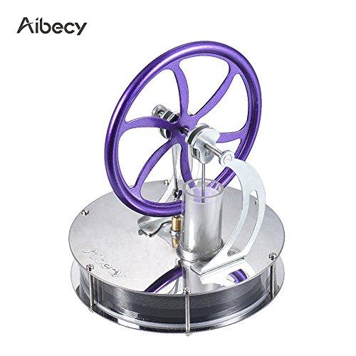 aibecy niedrige Temperatur Stirling Motor-Modell Motor Heat Steam Bildung Spielzeug Basteln Kit