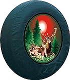 Aufkleber Göttin der Jagd- Diana 40 cm Auto Reserverad Abdeckung Bezug Lackfolie