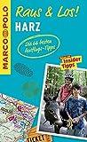 MARCO POLO Raus & Los! Harz: Guide und große Erlebnis-Karte in praktischer Schutzhülle