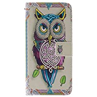 iPhone 5c Case, JGNTJLS Colorful-Pattern, Multifunctional Cover Wallet For Apple 4.0