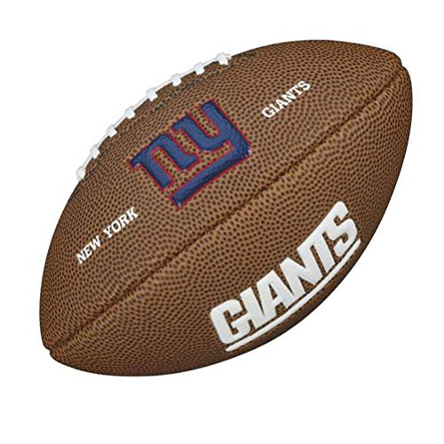 nfl-mini-logo-del-equipo-bola-marron-new-york-giants