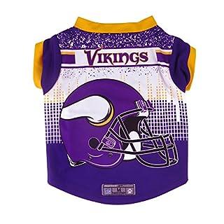 NFL Minnesota Vikings Pet Performance T-Shirt, Medium