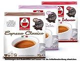 Probierset - 50 Stück Kompatible Kaffeekapseln von Caffè Bonini Italien - 5 Geschmacksrichtungen (Je 10 Kapseln). Kompatibel für alle Dolce Gusto* Maschinen u.a.