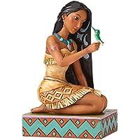 Disney Traditions–Figura de Pocahontas con pájaro