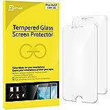 iPhone 6s Plus Protector de Pantalla, JETech 2-Paquetes Protección de los ojos Vidrio Templado Protector de Pantalla para Apple iPhone 6 Plus y iPhone 6s Plus 5.5 (Mate) - 0813C