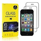 Alta Trasparenza Bear Village/® iPhone XR Vetro Temperato 2 pezzi Nessuna Bolla Durezza 9H Pellicola Protettiva in Vetro Temperato per Apple iPhone XR