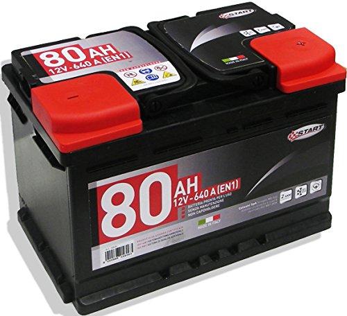 Start L3 Batteria Auto 80AH 640A 12V