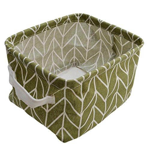 HENGSONG Kreativ Praktische Aufbewahrungsbox Korb Kosmetik Koffer Make-up Tasche Spielzeug Ablagebox Desktop Organizer für Haus Kinderzimmer Büro Aufbewahrung (Stil 5)