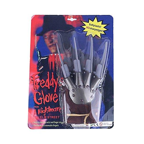 Greifer Kostüm - Ruiboury Halloween-Geist-Greifer-Handschuhe Herren Kostüm Paw Horror Angst Partei-Weihnachtsfeiertags-Anzieh Cosplay Handschuh