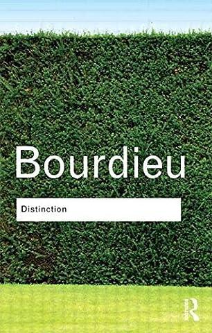 Distinction 1 New edition by Bourdieu, Pierre (1986)