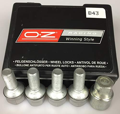 Unbekannt OZ Racing Felgenschloss smart fortwo 450 451 452