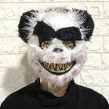 Máscara De Sierra De Halloween Máscara De Panda Horrible Máscaras Espeluznantes Máscara De Lobo Máscara De Disfraces Máscara/Máscara De Halloween/Máscara De Miedo