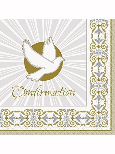 Golden strahlend Kreuz Konfirmation Servietten Badger Inks Tonerpatronen
