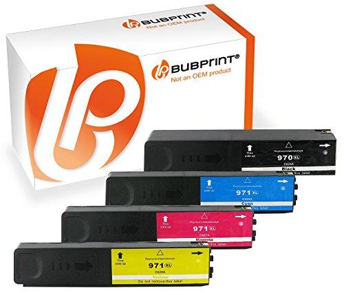 Preisvergleich Produktbild Bubprint Druckerpatronen kompatibel für HP 970 971XL 970XL OfficeJet Pro X576dw X576 X476dw mfp X451dw X551dw Multipack