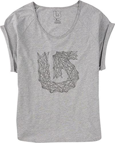 Burton wB rollie lines t-shirt à manches courtes pour femme Gris - Gris