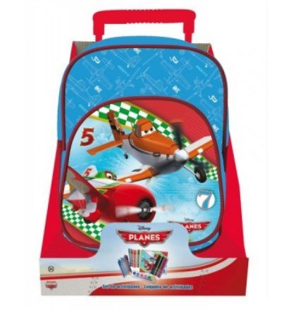 Mini trolley scuola asilo planes cod. as 7420