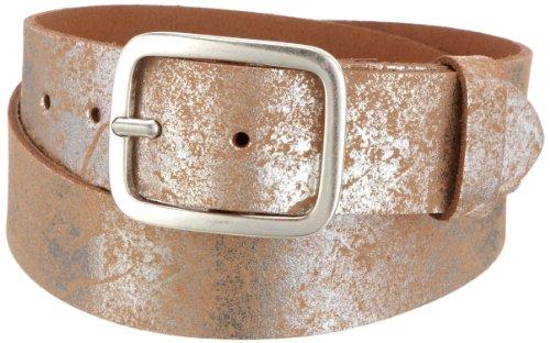 MGM Damen Gürtel Soft Glam, Gr. 95 cm, Silber (silber-used 1)