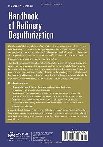 Handbook of Refinery Desulfurization (Chemical Industries)