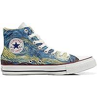 Converse All Star Customized Unisex - Zapatos Personalizados (Producto Artesano) Van Gogh 2
