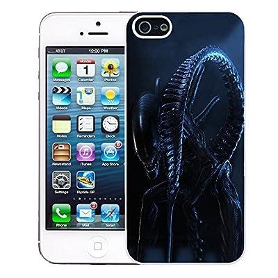 Alien Vs Predator cover case for Apple iPhone 5 - 5S - T1648 - AVP Night Core Drone