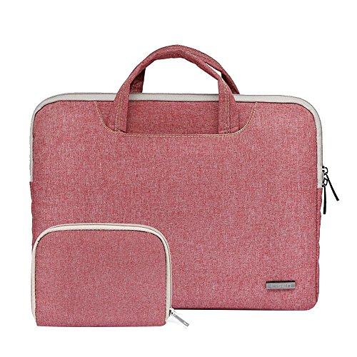 Preisvergleich Produktbild Pawaca 15,6 Zoll Dünner Laptop-Hülle-Kasten mit Handgriff, Nylon Stoßfest Schützender Aktenkoffer Beutel Laptop Tasche und Aufbewahrungsbeutel für Apple MacBook Pro / Lenove / IPad / Acer / Asus / Dell
