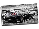 Nissan Skyline GTR Sport Auto Wall Art Print auf Leinwand Bild Leinwand Prints 76,2x 40,6cm (76.2cm x 40,6cm)
