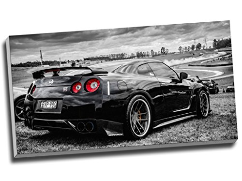 nissan-skyline-gtr-coche-deportivo-impresion-de-lienzo-pared-arte-imagen-lienzo-30-x-16-inches-762-c
