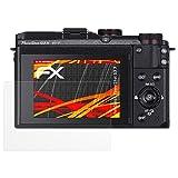 atFoliX Canon PowerShot G3 X Lámina Protectora de Pantalla - 3 x FX-Antireflex-HD antirreflectante de alta resolución Protector Película